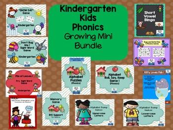 Phonics MINI Bundle (Kindergarten)