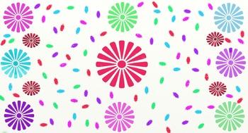 Funky Flowers Paper