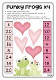 Funky Frogs x4 Valentine's FREEBIE