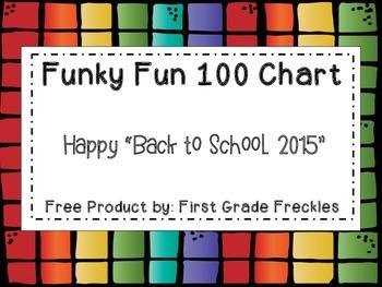 Funky Fun 100 Chart