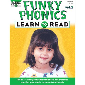 Funky Phonics ®: Learn to Read, vol. 2