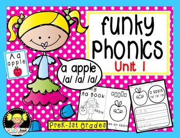 Funky Phonics: Unit 1 & 2 Bundled