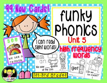 Funky Phonics: Unit 5 {Sight Words}