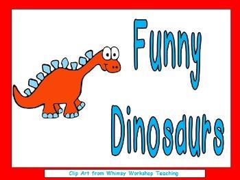 Funny Dinosaurs Shared Reading Kindergarten Color Words