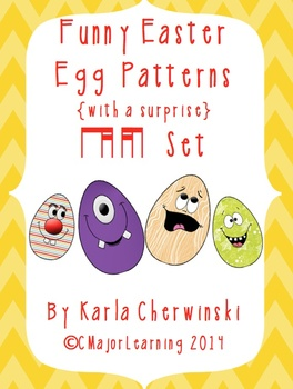 Funny Easter Egg Patterns {with a surprise} ti-tika and tika-ti
