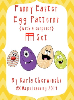 Funny Easter Egg Patterns {with a surprise} tika tika (six