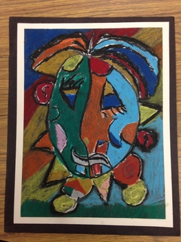 """""""Funny Face"""" Picasso...in the style of Pablo Picasso"""