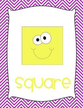 Funny Face Shapes Posters