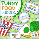 Funny Food Labels
