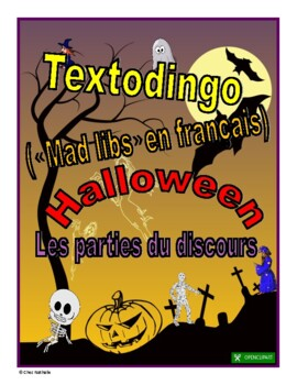 Funny French Halloween Paragraphs