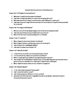 Funny in Farsi Comprehension Check Questions for All Chapters
