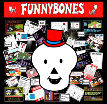 Funnybones story resources ourselves literacy display bone