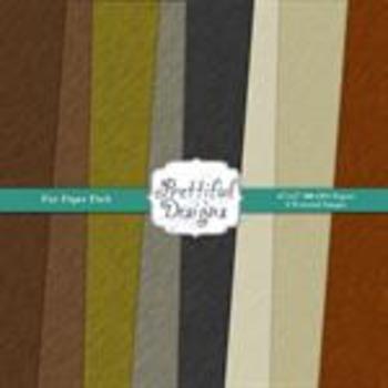 Fur Pattern Paper Pack
