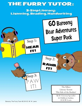 Furry Tutor: Funny Listening-Reading-Writing Literacy; 60