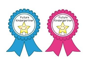 Future Kindergartner and Kindergartner Ribbons