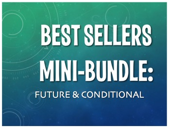 Best Sellers: Spanish Future and Conditional