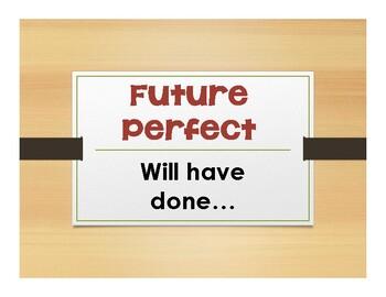 Spanish Future Perfect Notes