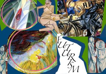 Futurism Art History ~ FREE POSTER ~  Futurist Art