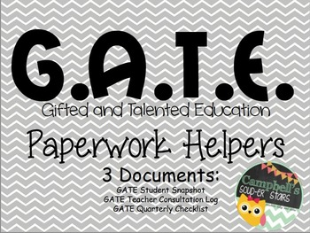 G.A.T.E Student Documents