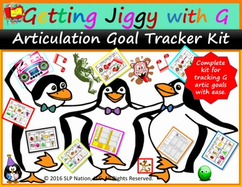 Get Jiggy with G Goal Tracker Kit: Track G Articulation Go