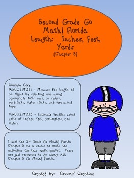 2nd Grade Go Math! Florida Chapter 8 Inches, Feet, and Yar