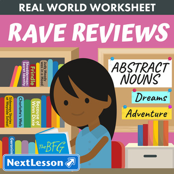 G3 Abstract Nouns - 'Rave Reviews' Essential: The BFG