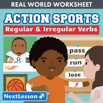 G3 Regular & Irregular Verbs - 'Action Sports' Essential: