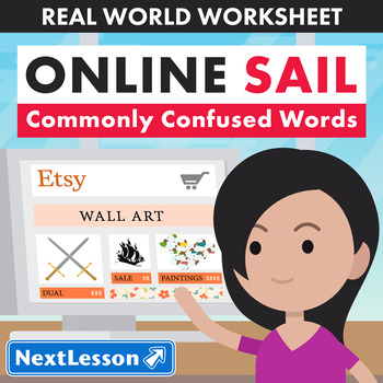 G4 Commonly Confused Words - 'Online Sail' Essential: Wall