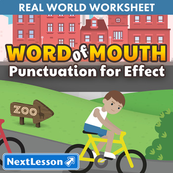 G4 Punctuation for Effect & Commas - 'Word of Mouth' Essen
