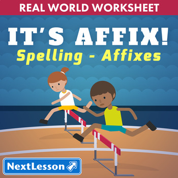 G6 Spelling with Affixes - 'It's Affix!' Essential: Track & Field