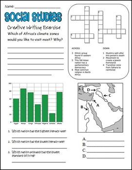 7th Grade Social Studies Review Worksheet