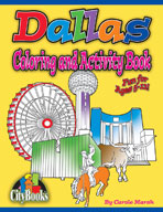 Dallas Coloring and Activity Book