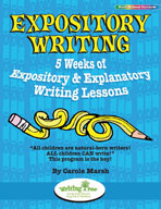 Expository Writing: 5 Weeks of Expository & Explanatory Wr