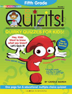Fifth Grade Quizits!: Quirky Quizzes For Kids!