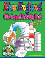 New England Coloring & Activity Book