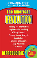 The American Revolution Common Core Lessons and Activities
