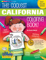 The Coolest California Coloring Book!