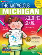 The Marvelous Michigan Coloring Book!