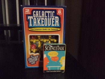 GALACTIC -STRATEGY GAME -SCIENCE TALK CARDS (SET OF 2)