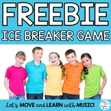 Freebie :  Ice Breaker Game for Classroom Community and Te