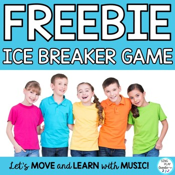 Freebie : Back to school or Ice Breaker Game