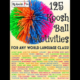 GAMES: 125 Koosh Ball Activities for Middle or High School