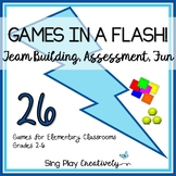 GAMES IN A FLASH #2 Brain Breaks, End of Year, Build Commu