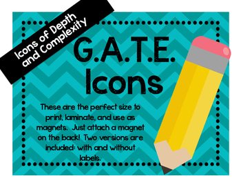 GATE Icon Magnets
