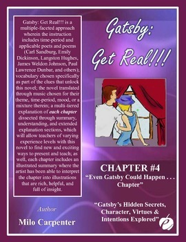"""GREAT GATSBY – Chapter 4:  """"Even Gatsby Could Happen Chapt"""