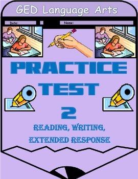GED Test Packet 2-Language Arts