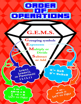 GEMS - Order of Operations