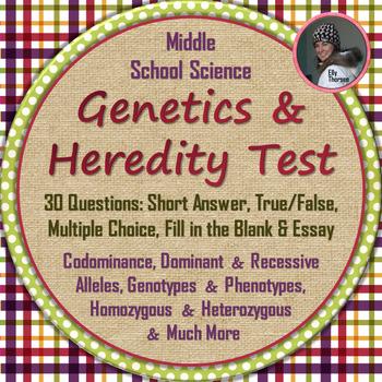 GENETICS TEST: Punnett Squares, Genotype, Codominance, Hom