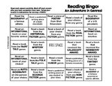 Jubilee's Junction - Genre Reading Bingo Sheet *UPDATED*