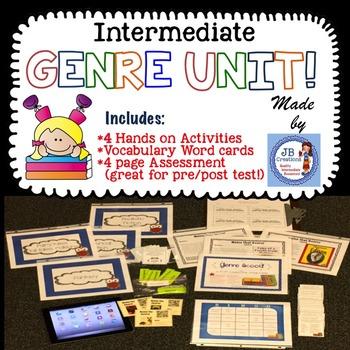 GENRE activity bundle for intermediate grades!  (3rd, 4th,